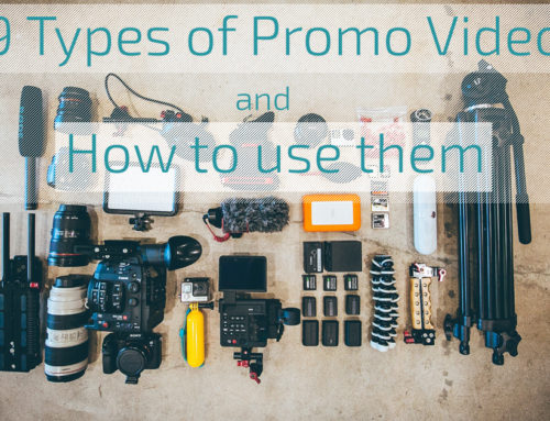 9 Types of Promo Video and How to use Them