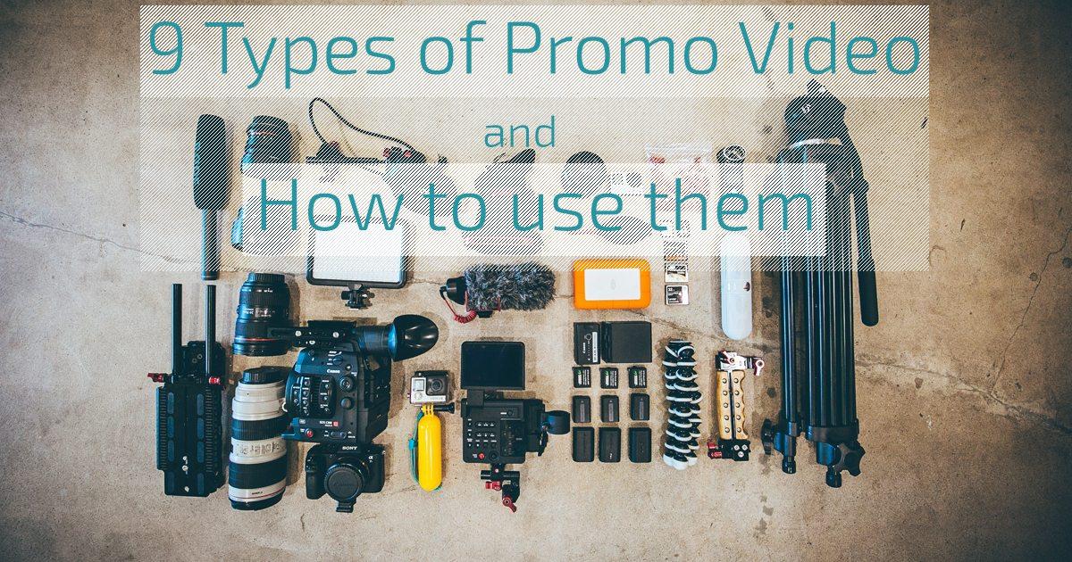 9 types of promo video