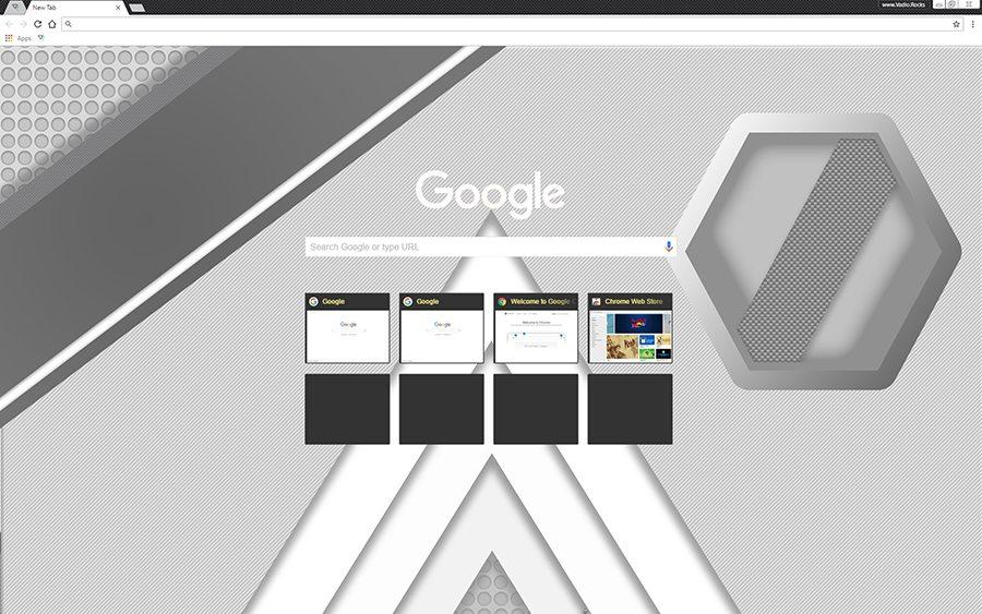 Premium Google Chrome Themes designed by Vadio Rocks