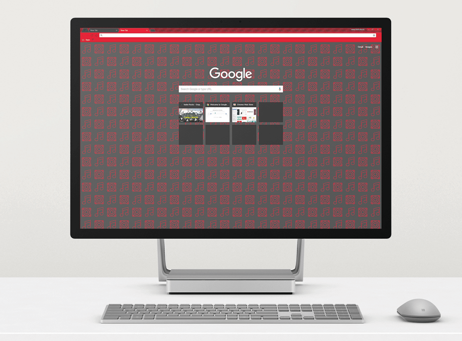 Google Chrome Theme